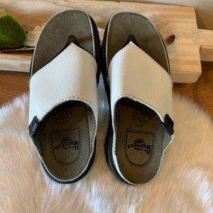 Dr. Martens Shoes - Dr Martens leather platform sandals